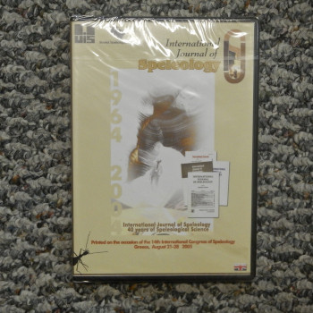 International Journal of Speleology 40 years on a CD - Product Image