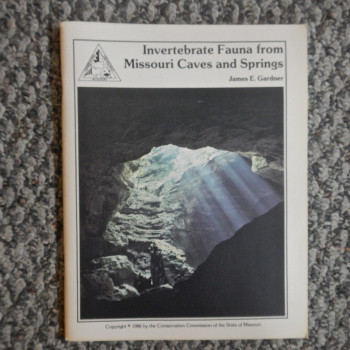 Invertebrate Fauna from Missouri Caves and Springs - Product Image