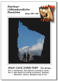 Iran Cave Directory (3rd Edition). BHB 45 & 46 Special Order - Product Image