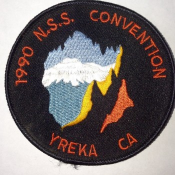 1990 NSS Convention Yreka Patch - Product Image