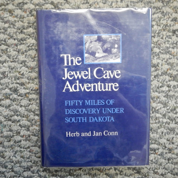Jewel Cave by Herb and Jan Conn, Zephyrs Press first edition, Hb w/ dj - Product Image