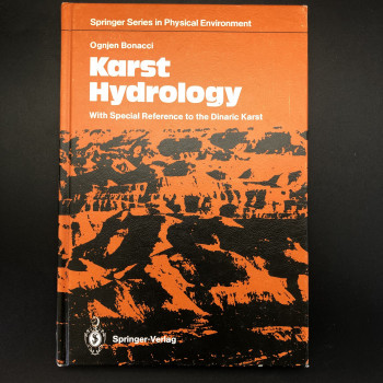Karst Hydrology with Special Reference to the Dynamic Karst - Product Image