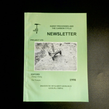 Karst Processes and the Carbon Cycle Newsletter 1998 - Product Image