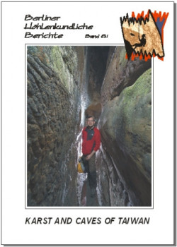 Karst and Caves of Taiwan  BHB volume 81 - Product Image