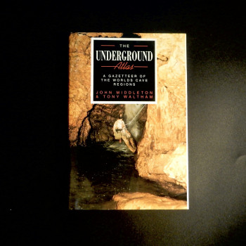 The Underground Atlas by Middleton and Waltham, 1992 edition SOLD - Product Image