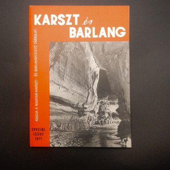 Karszt es Berlang Special English language issue for the 7th ICS 1977 - Product Image