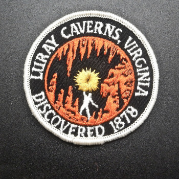 Luray Caverns Discovered 1878 Patch - Product Image