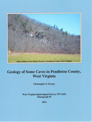 MONOGRAPH 5 -- Geology of Some Caves in Pendleton County West Virginia - Product Image