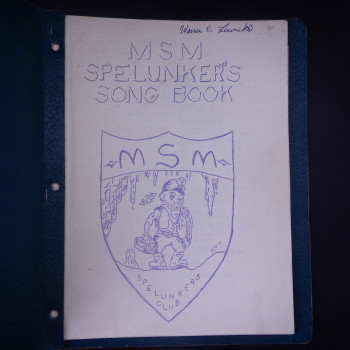 MSM Spelunker's Song Book - Product Image