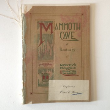 Mammoth Cave of Kentucky, Hovey's Practical Guide to the Regulation Routes (COPY 3) - Product Image
