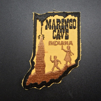 Marengo Cave Patch (State Shape) - Product Image