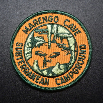 Marengo Subterranean Campground Patch - Product Image