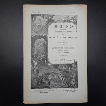 Memoires de la Societe de Speleologie, Tome 8 #59 - Product Image