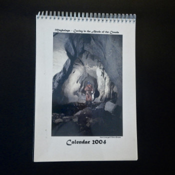 Meghalaya-Caving in the Abode of the Clouds, Calendar 2004 - Product Image