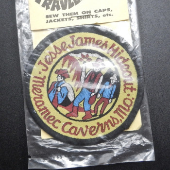 Mermen Caverns Jesse James Hideout #2 Patch - Product Image