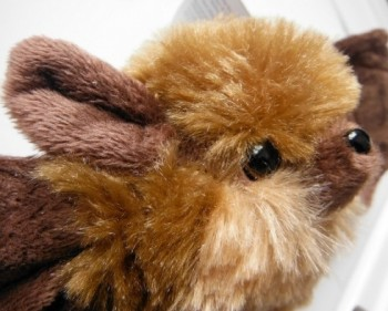 Mini Cuddlekins Brown Bat - Product Image