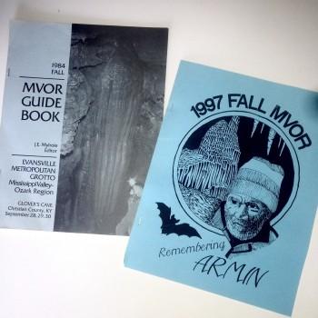 Mississippi Valley Ozark Region (MVOR) Guidebooks - Product Image