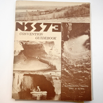 NSS73 Convention Guidebook  (Indiana 1973). - Product Image