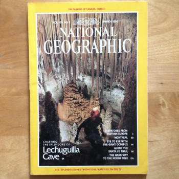 Nat Geo Lechuguilla Cave March 1991 - Product Image