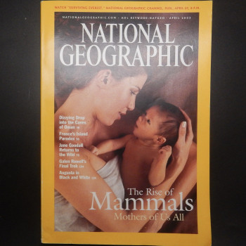 National Geographic, April 2003, Dizzying Drop into the Caves of Oman - Product Image