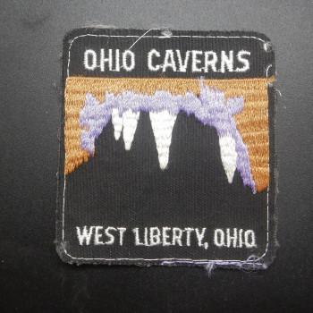 Ohio Caverns Square Patch - Product Image