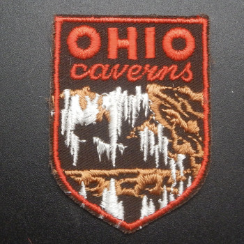 Ohio Caverns Shield Patch - Product Image