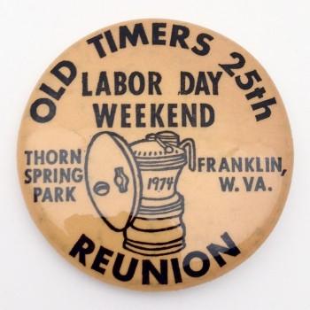 Original 25th OTR Pin 1974 - Product Image