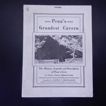 Penn's Grandest Cavern (library stamp on back cover) - Product Image