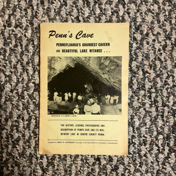 Penn's Cave 1950 #1 - Product Image