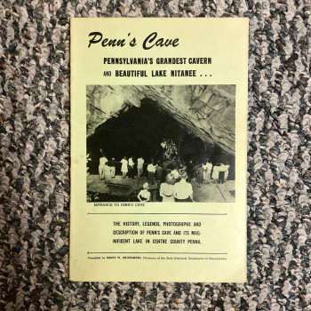 Penn's Cave 1950 #2 - Product Image