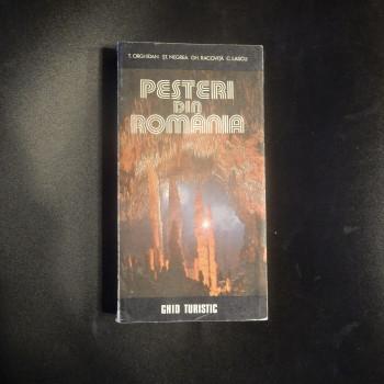 Pesteri Din Romania, by Orghidan, Negrea, Racovita, Lascu,, 1984 - Product Image