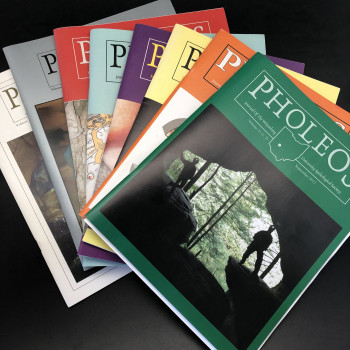 Pholeos; Journal of the Wittenberg University Speleological Society single issues - Product Image