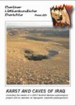 Karst and Caves of Iraq (including the results of a 2007 Kurdish-German speleological project and an overview on hypogenic sulphidic spelaogenesis), BHB Vol. 26 - Product Image