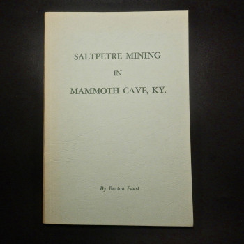 Saltpeter Mining in Mammoth Cave, KY. - Product Image