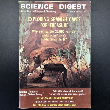 Science Digest, Exploring Spanish Caves for Treasures - Product Image