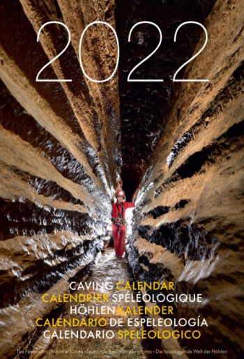 Speleo Projects Caving Calendar 2022 The Fascinating World of Caves (Expected Very Soon) - Product Image