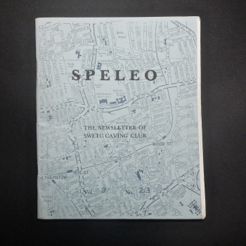 Speleo; The Newsletter of SWETC caving club, Vol 9, No 2/3 - Product Image