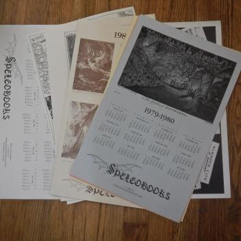 Speleobooks single sheet calendars 79-89 - Product Image