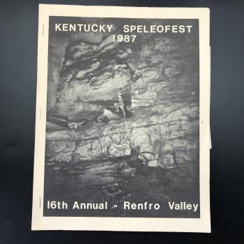 Speleofest 1987 SOLD - Product Image