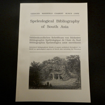 Speleological Bibliography Of South Asia - Product Image