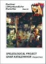 Speleological Project Ghar Katalehkhor (Zanjan / Iran), BHB Vol. 12 - Product Image