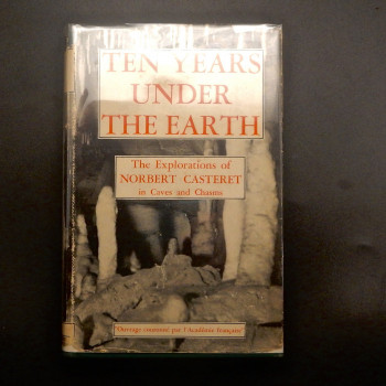 Ten Years Under the Earth by Norbert Casteret - Product Image