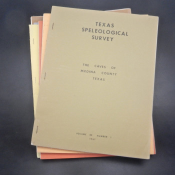 Texas Speleological Survey Vol. 3, # 1 to 6, 1967 to 1971 - Product Image