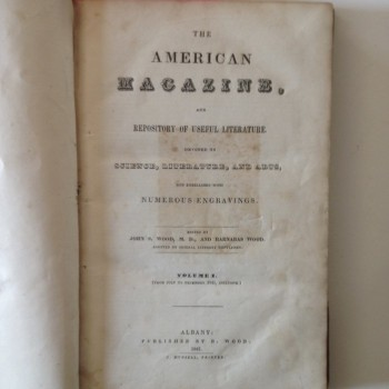 The American Magazine and Repository of Useful Literature Volume 1 1841 - Product Image