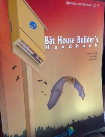 The Bat House Builder's Handbook - Product Image