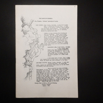 The Caves of Georgia by J. Roy Chapman - Product Image