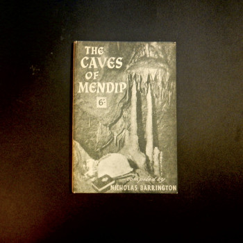 The Caves of Mendip by Barrington, 1957 - Product Image