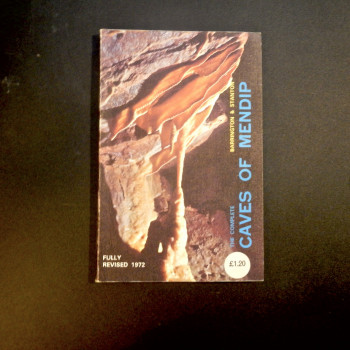 The Caves of Mendip by Barrington, 1972 - Product Image