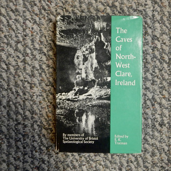 The Caves of North-West Clare, Ireland, Review copy SOLD - Product Image