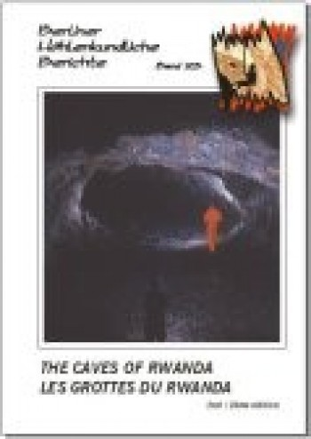 The Caves of Rwanda / Les Grottes du Rwanda. 2nd Edition BHB Volume 23 Special Order - Product Image